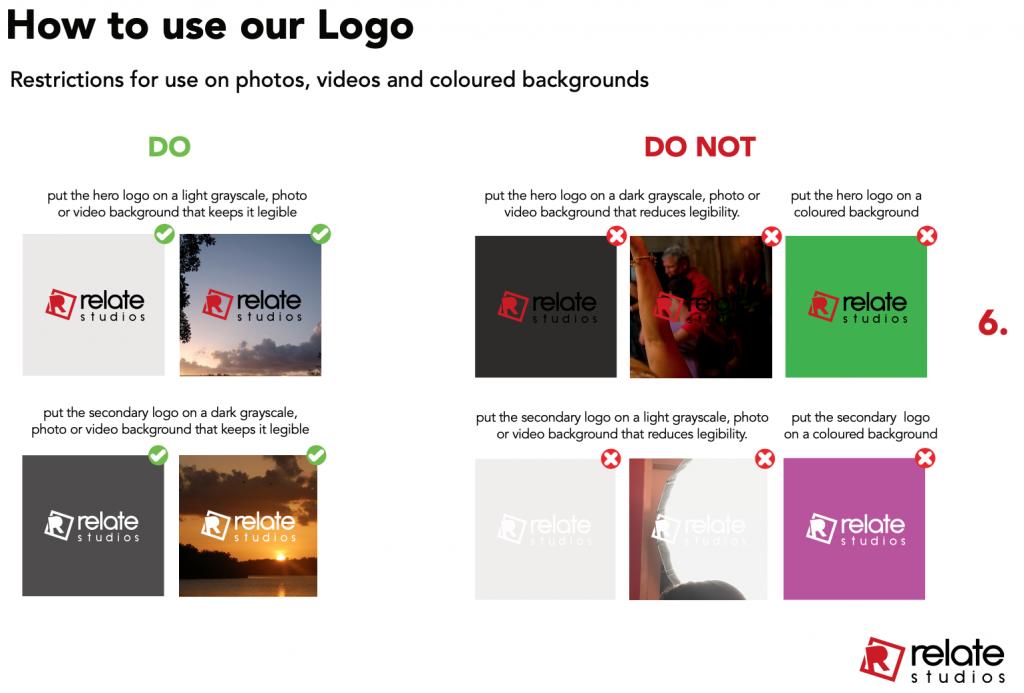 Relate Studios Logo Use